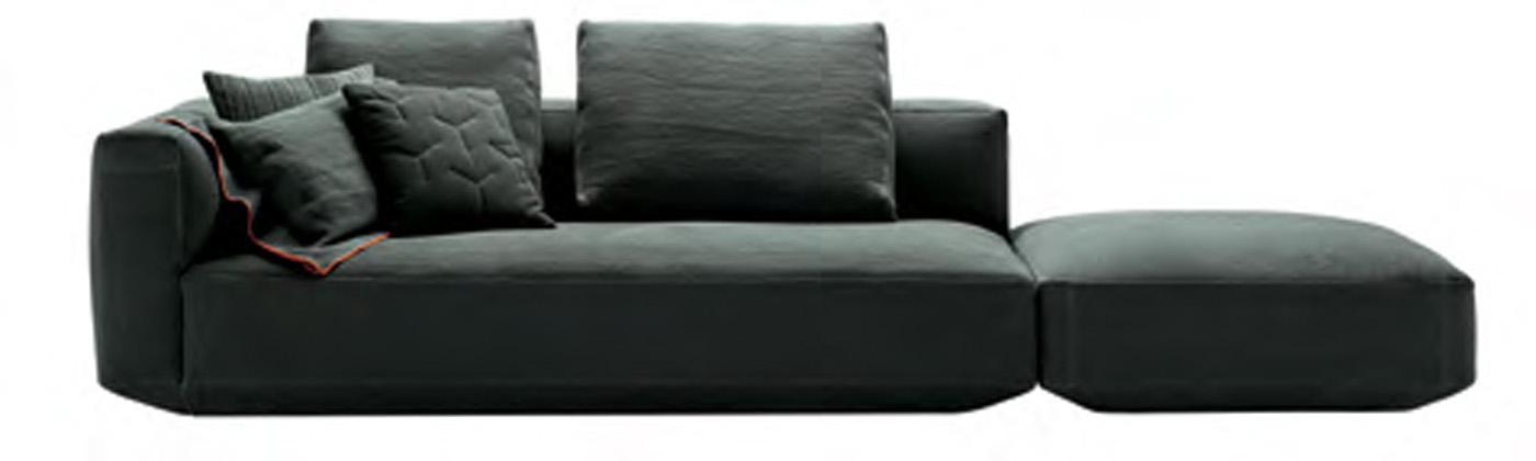 Modulari e componibili i nuovi divani zanotta - Divani colorati componibili ...