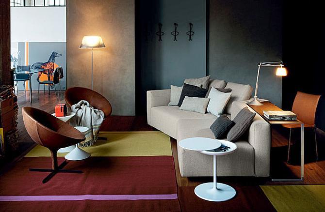 Modulari e componibili, i nuovi divani Zanotta