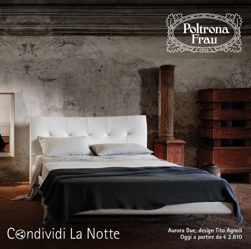 Letti Poltrona Frau, condividi la notte - Scillufo Arredamenti Palermo