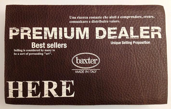 baxter premium dealer palermo