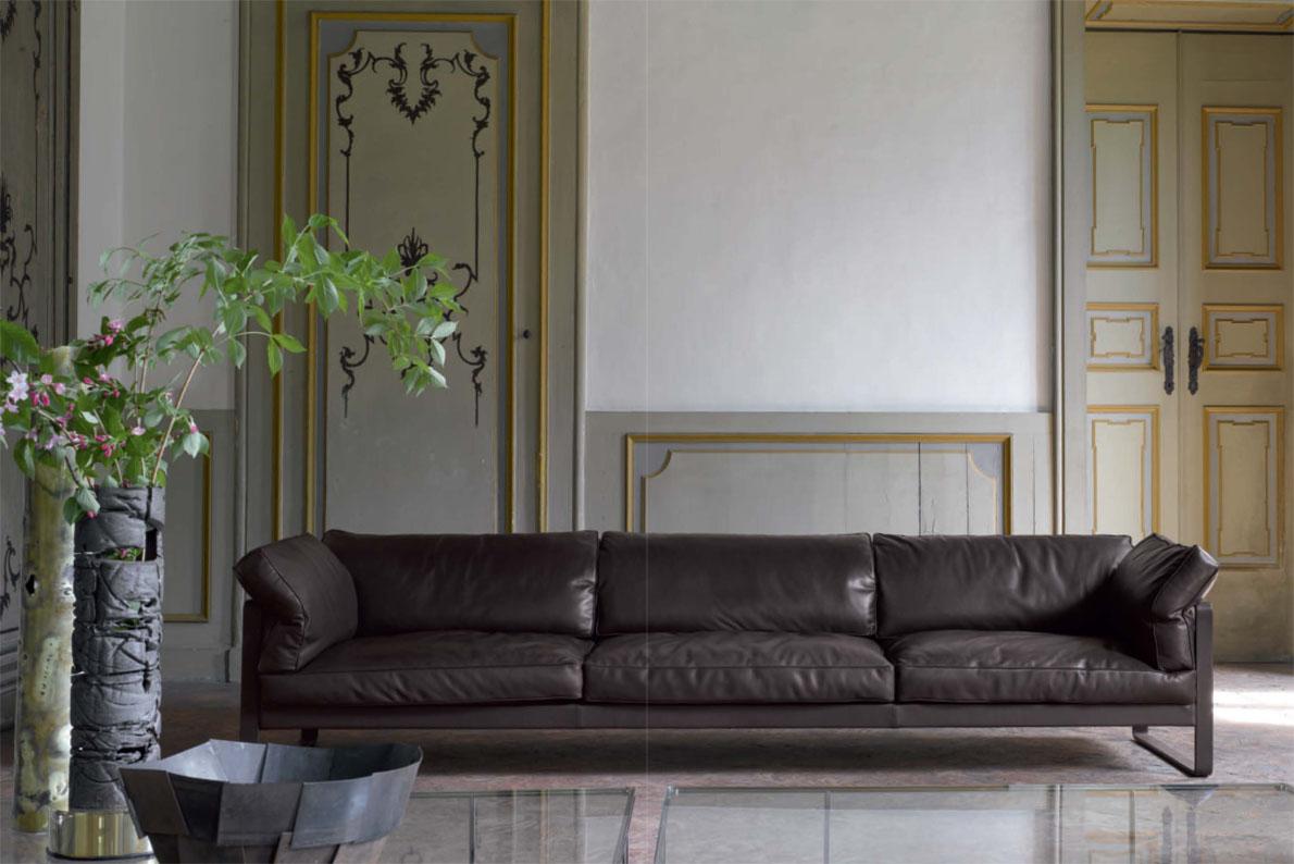divani in pelle poliform divani palermo flexform baxter. Black Bedroom Furniture Sets. Home Design Ideas