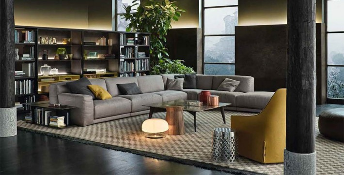 Divani palermo flexform baxter giorgetti cassina poliform for Idea casa arredamenti