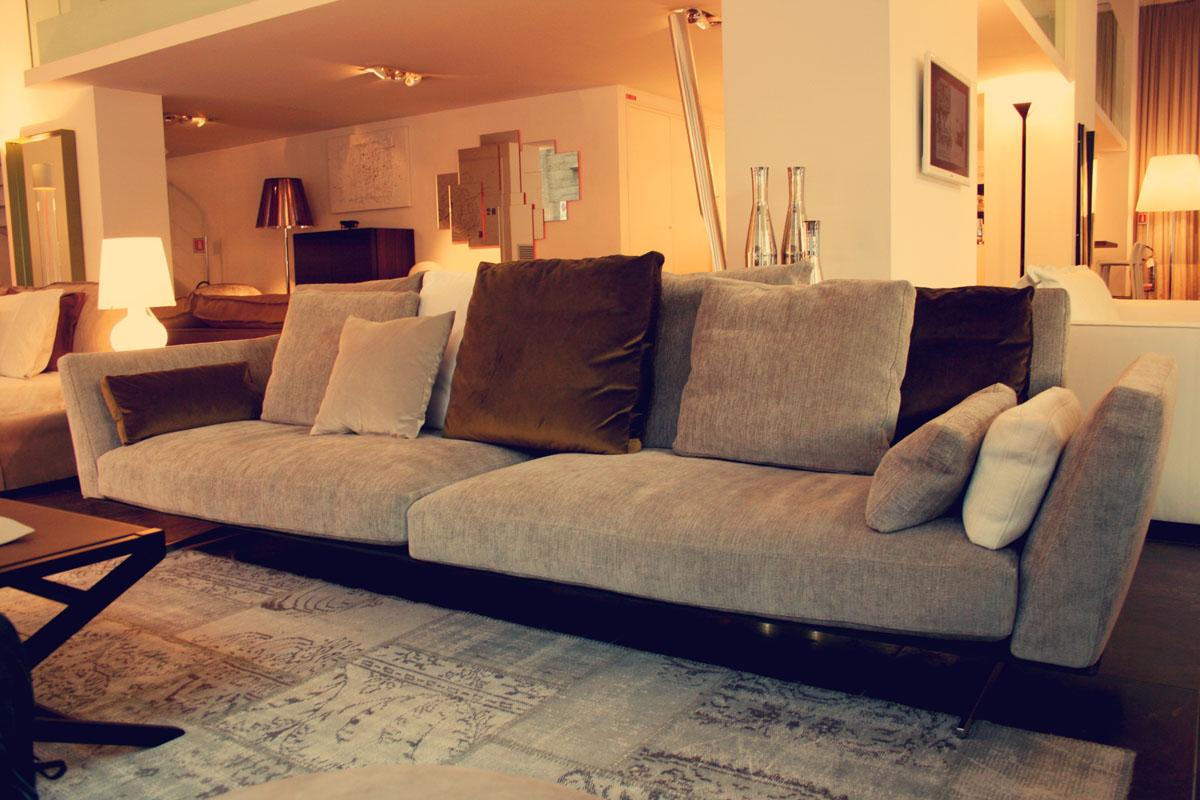 Flexform palermo anteprime salone 2013 for Citterio arredamenti