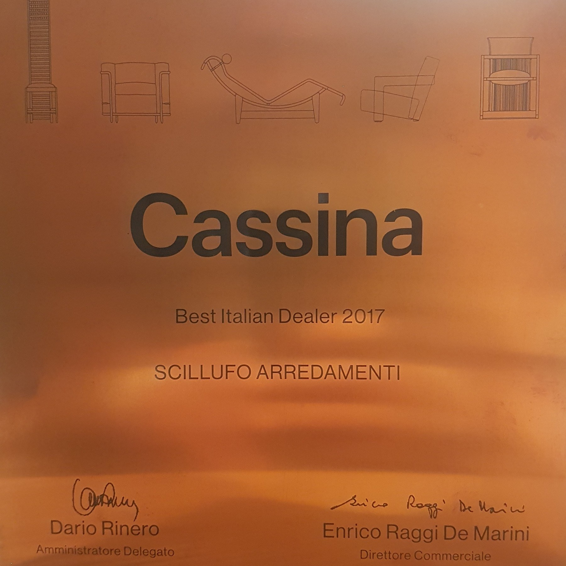 Cassina best italian dealer 2017 scillufo arredamenti for Cassina italy