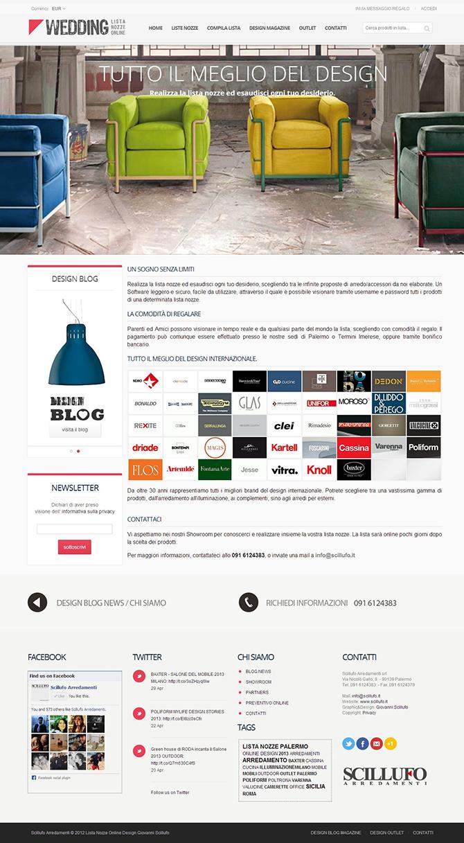 Scillufo Arredamenti Palermo - Lista Nozze Online 670
